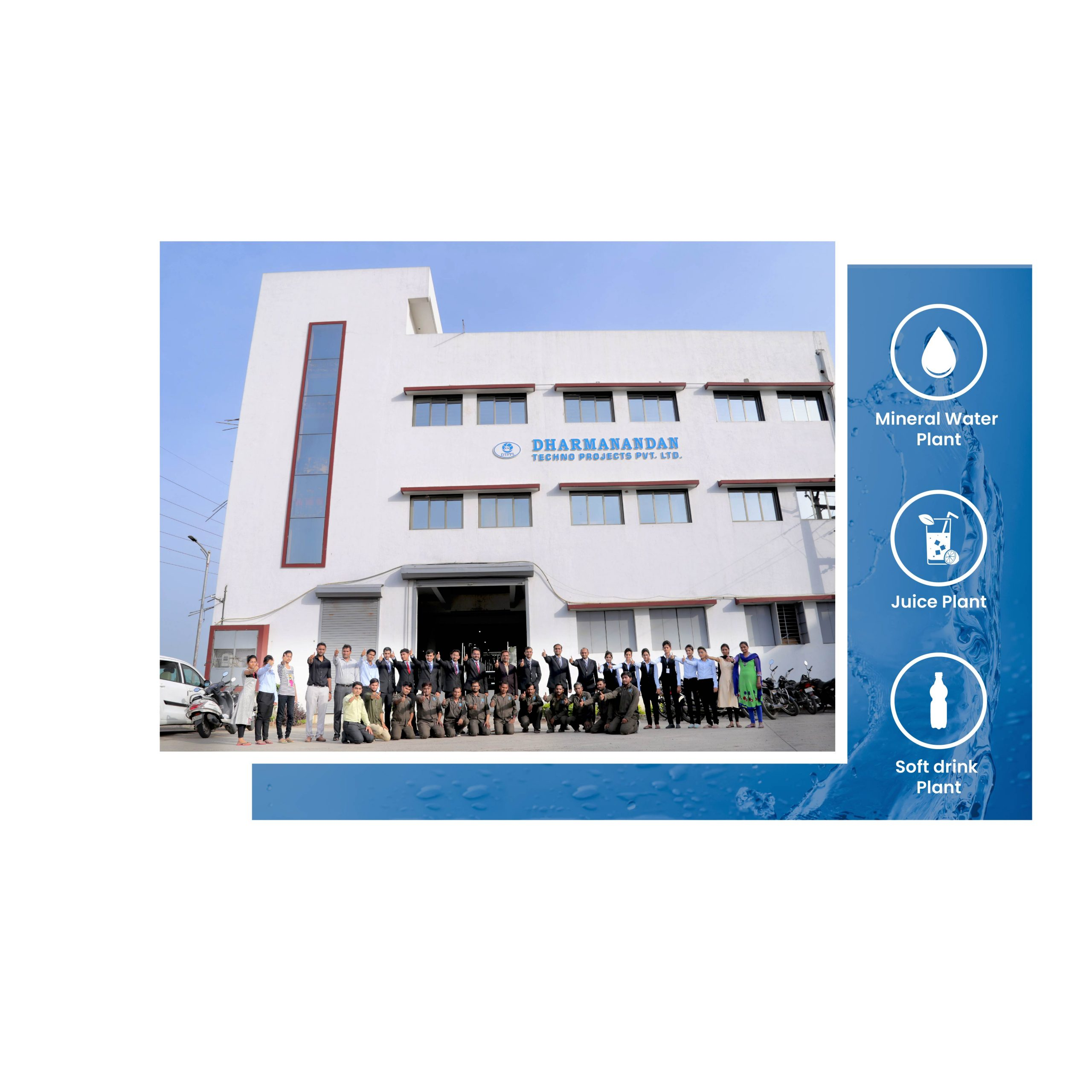 DTPPL : Mineral Water Plant & Packaging Machine Manufacturer India